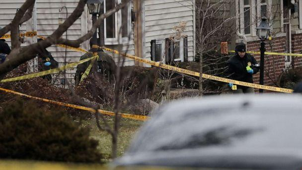 PHOTO: Ohio Bureau of Criminal Investigation agents work the scene of an officer-involved shooting, Dec. 22, 2020, in Columbus, Ohio. (Joshua A. Bickel/The Columbus Dispatch via USA Today)