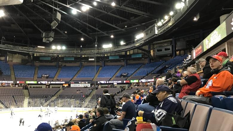 Last hockey game marks end of an era at Northlands Coliseum