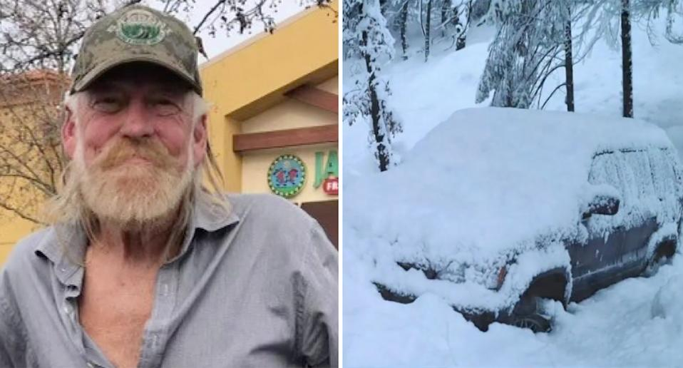 David Deshon's body was found after his car broke down in the snow. Source: CBS13