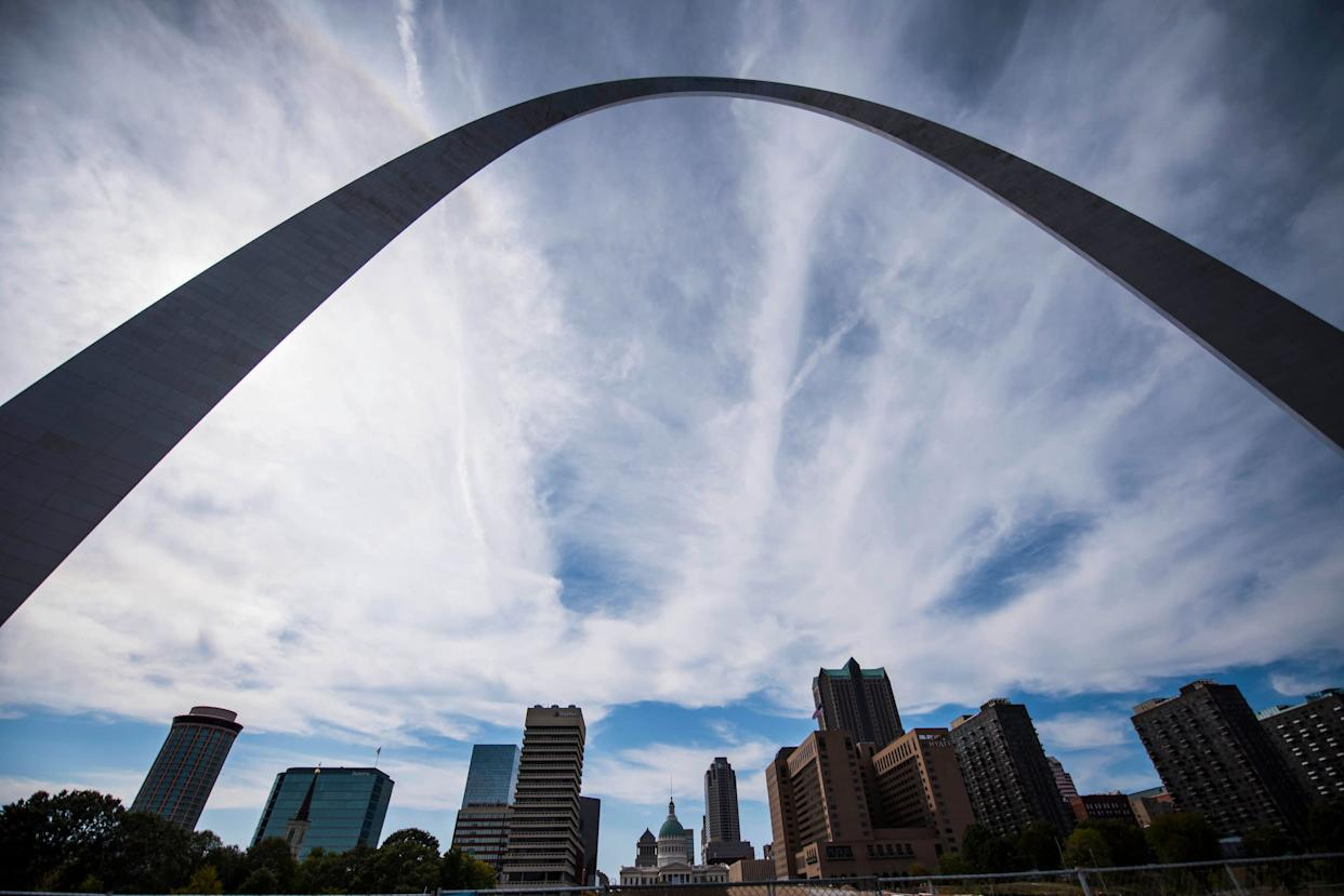 The Arch over downtown St Louis. (Photo: Damon Dahlen/HuffPost)