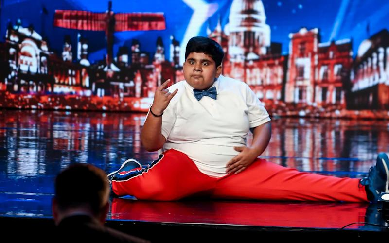 Akshat Singh charmed the crowd - ITV Picture Desk