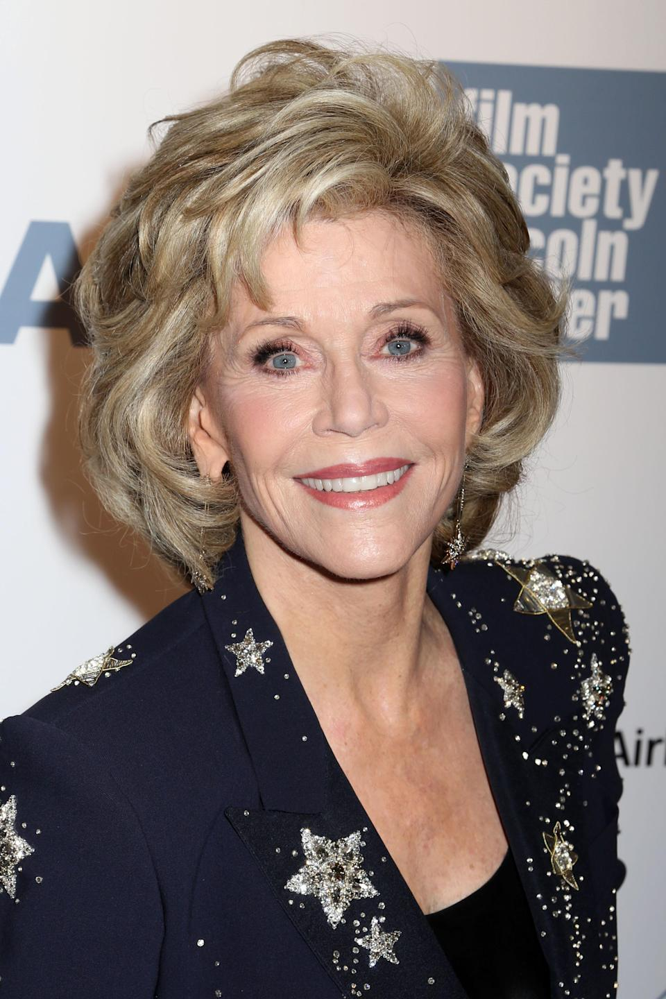 Jane Fonda recently revealed that she's having the [sex] time of her life [Photo: PA Images]