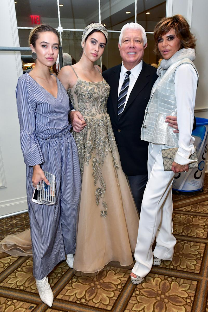 Lisa Rinna's Daughter Amelia Hamlin Makes NYFW Debut — and the RHOBH Star is One Proud Mama
