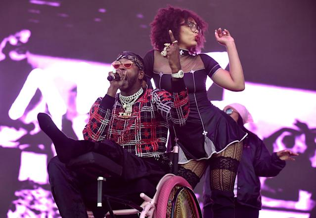 <p>2 Chainz performs during the 2017 Life is Beautiful Festival on September 22, 2017 in Las Vegas, Nevada.<br>(Photo by Tim Mosenfelder/Getty Images) </p>