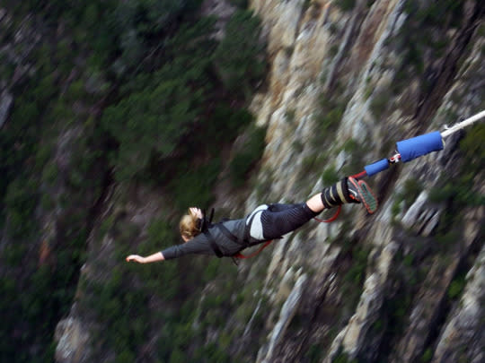 Bungee Jumping In South Africa: Hangover Cure Of A Lifetime