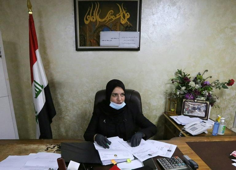 As head of the Iraqi finance ministry's budget department, Taif al-Sami, 57, is an independent, vocal woman in a male-dominated bureaucracy