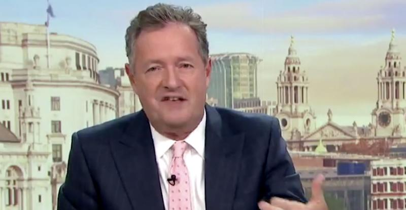 Piers Morgan joked that he might leave Good Morning Britain in January, four years after joining the show with Susanna Reid (Photo: ITV)