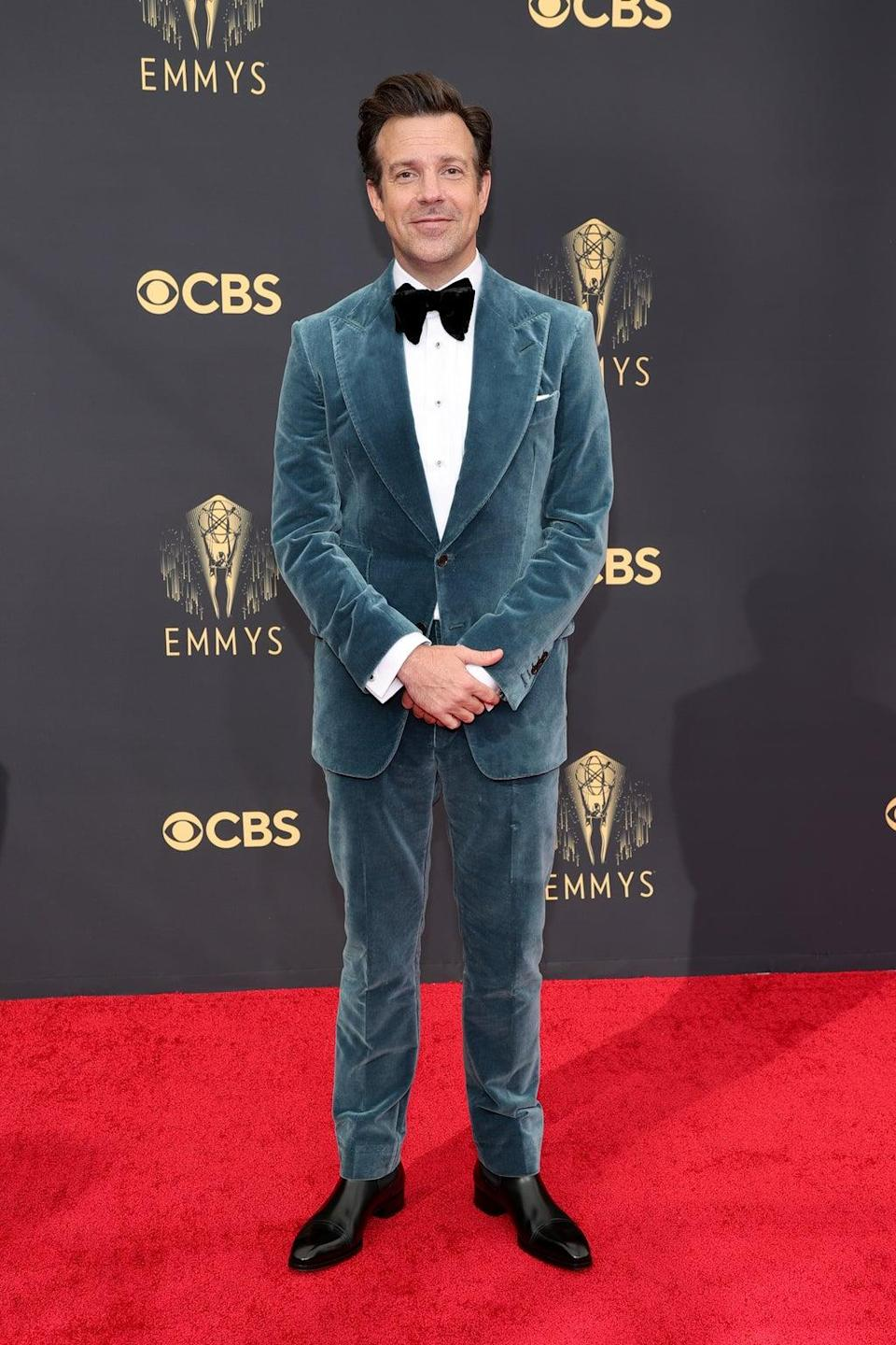 Jason Sudeikis at the Emmy Awards 2021 (Getty Images)