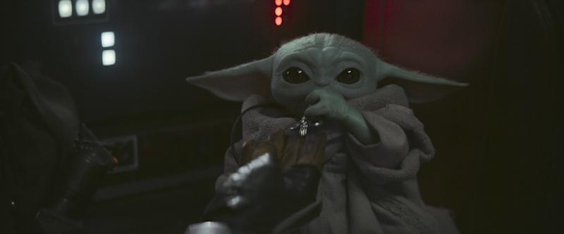 Breakout 'Mandalorian' star Baby Yoda is going to be headlining a new cereal, coming soon to stores (Photo: Disney+)