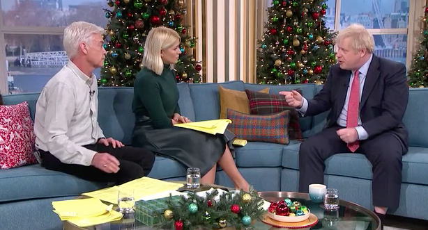 Boris Johnson's interview on 'This Morning' was criticised by some of those watching at home. (ITV)