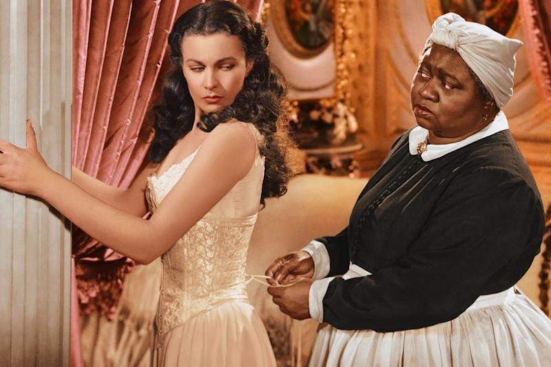 Vivien Leigh and Hattie McDaniel in Gone with the Wind