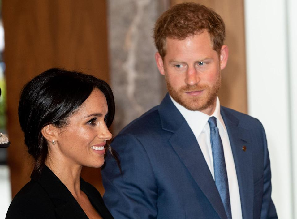 According to a royal source, the Duchess of Sussex is thriving in her royal life but is reportedly struggling to bond with Prince Harry's friends. Photo: Getty Images