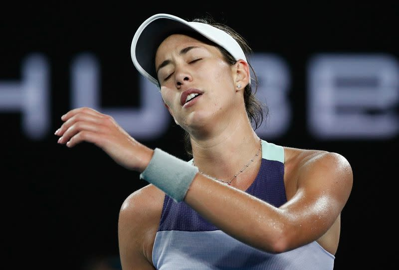 Spain's Muguruza doubtful for U.S. Open due to ankle problem