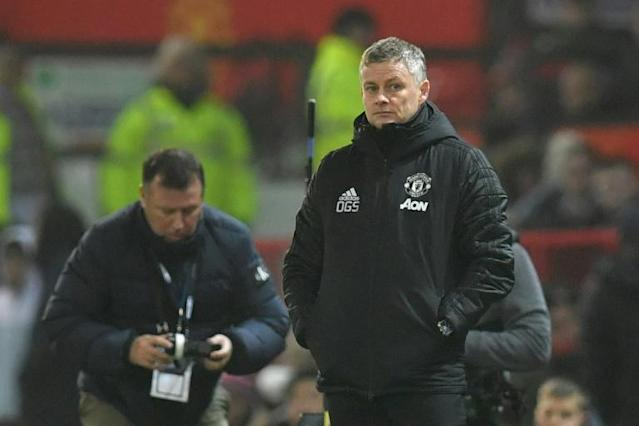 Manchester United manager Ole Gunnar Solskjaer has an FA Cup fourth-round date at Tranmere (AFP Photo/Paul ELLIS)