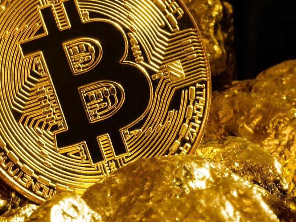 Cryptocurrency analysts have likened bitcoin to 'digital gold' (Getty Images)
