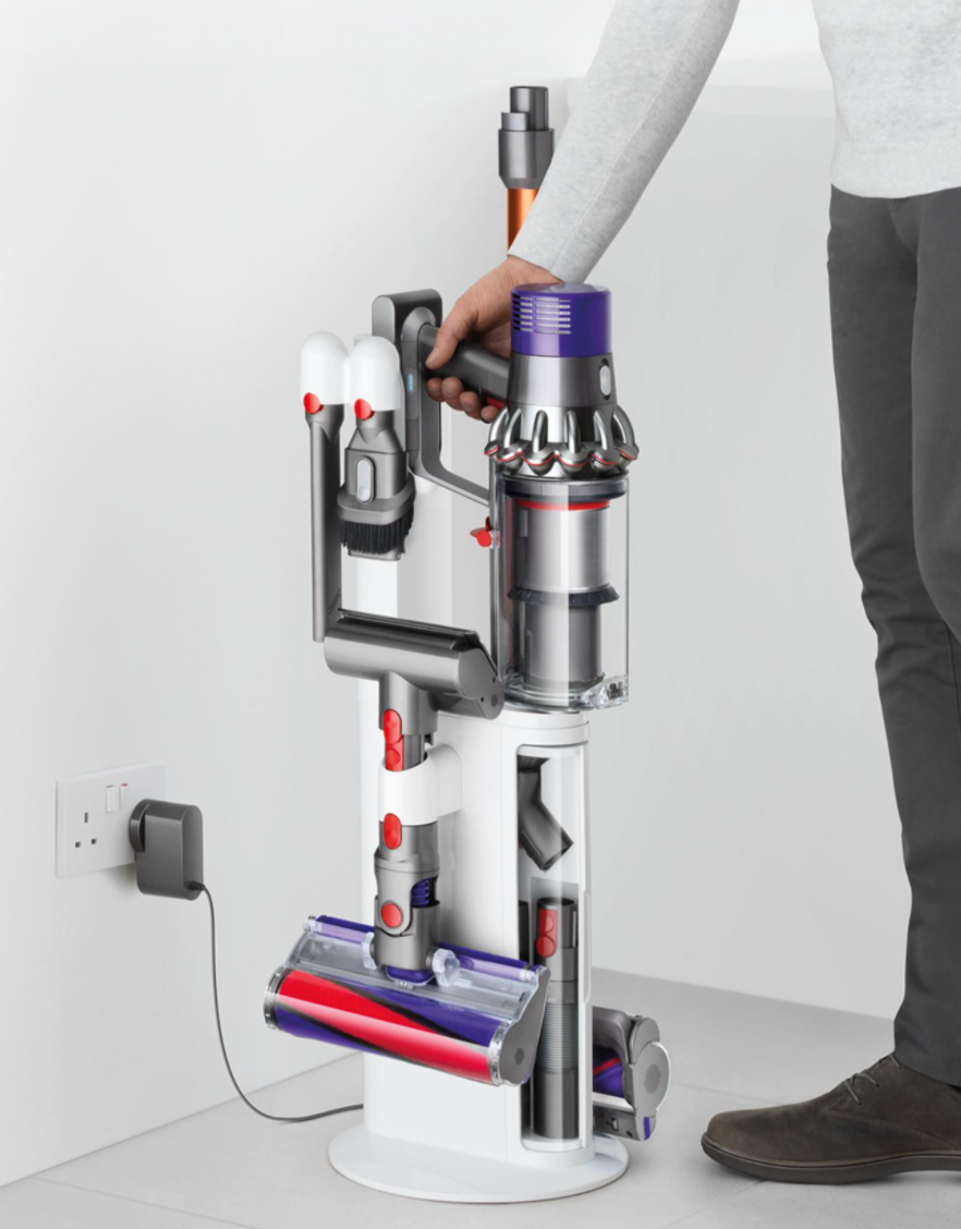 """<br><br><strong>Dyson</strong> Cyclone V10 Dok™, $, available at <a href=""""https://go.skimresources.com/?id=30283X879131&url=https%3A%2F%2Ffave.co%2F35n5eh0"""" rel=""""nofollow noopener"""" target=""""_blank"""" data-ylk=""""slk:Dyson"""" class=""""link rapid-noclick-resp"""">Dyson</a>"""