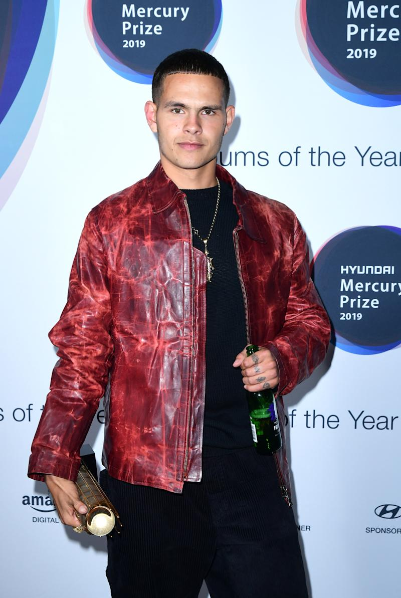 Nominee: Slowthai during the Hyundai Mercury Prize 2019, held at the Eventim Apollo, London.