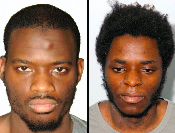 Lee Rigby's killers, Michael Adebolajo and Michael Adebowale (Picture: PA)