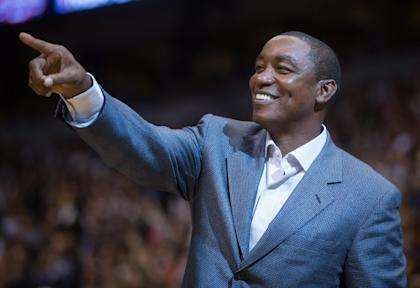 Isiah Thomas is back. (AP/The Canadian Press)