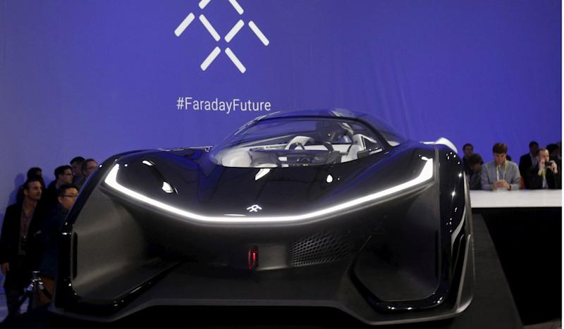 Founder of electric vehicle startup Faraday files for bankruptcy