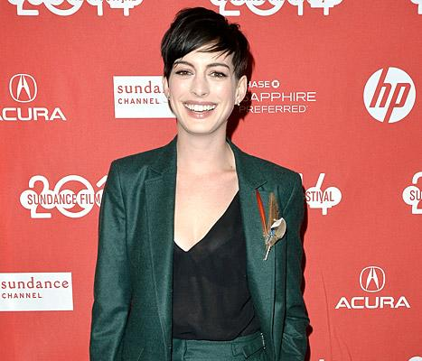 """Anne Hathaway Explains Low Profile Post-Oscars: """"People Needed a Break From Me"""""""