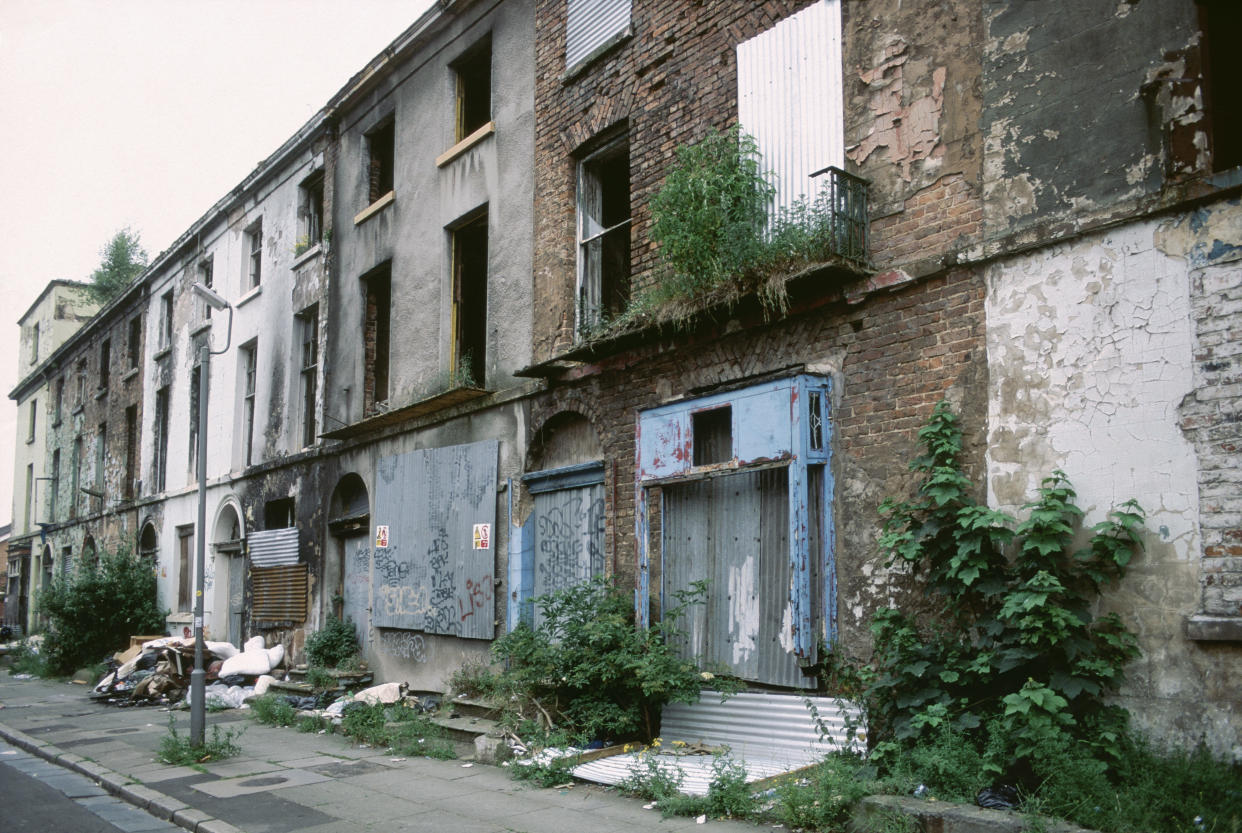 Toxteth in Liverpool is the top property hotspot after disused homes were sold for £1. (Getty)