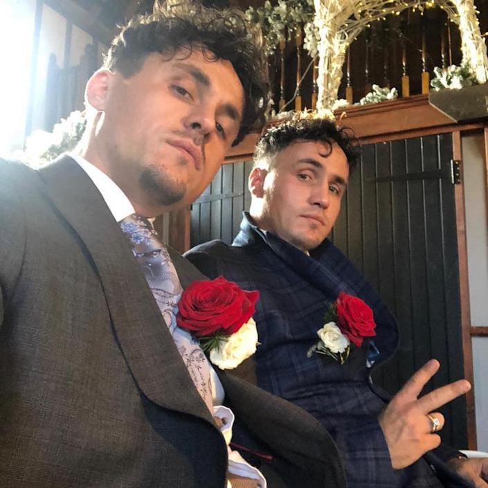 Two men who were found dead on Saturday in a suspected double suicide have been named as My Big Fat Gypsy Wedding twin brothers Billy and Joe Smith. (Facebook)