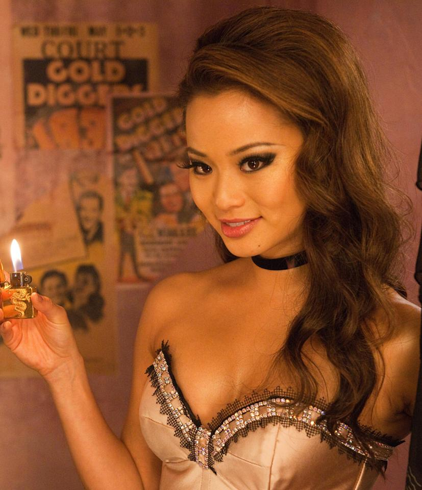 """<a href=""""http://movies.yahoo.com/movie/contributor/1809766996"""">JAMIE CHUNG</a>  Age: 27  Jamie is the newest to acting of the """"Sucker Punch"""" stars. She made her movie debut in 2007 in """"I Now Pronounce You Chuck & Larry,"""" and played the title role in the ABC Family show """"Samurai Girl."""" But she was already familiar to TV audiences from the show where she got her unlikely start."""