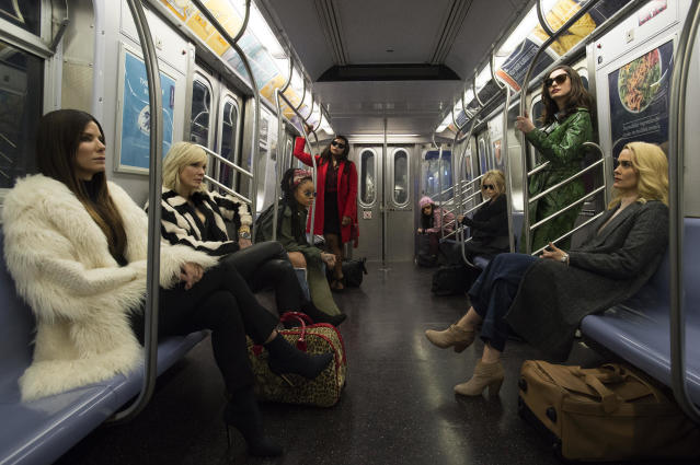 Sandra Bullock assembles an all-star female heist squad in first 'Ocean's 8' trailer