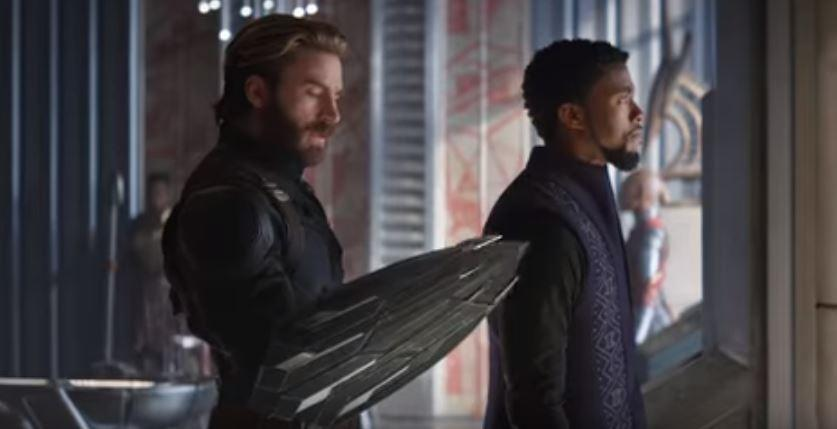 Captain America gets a new shield in Avengers: Infinity War