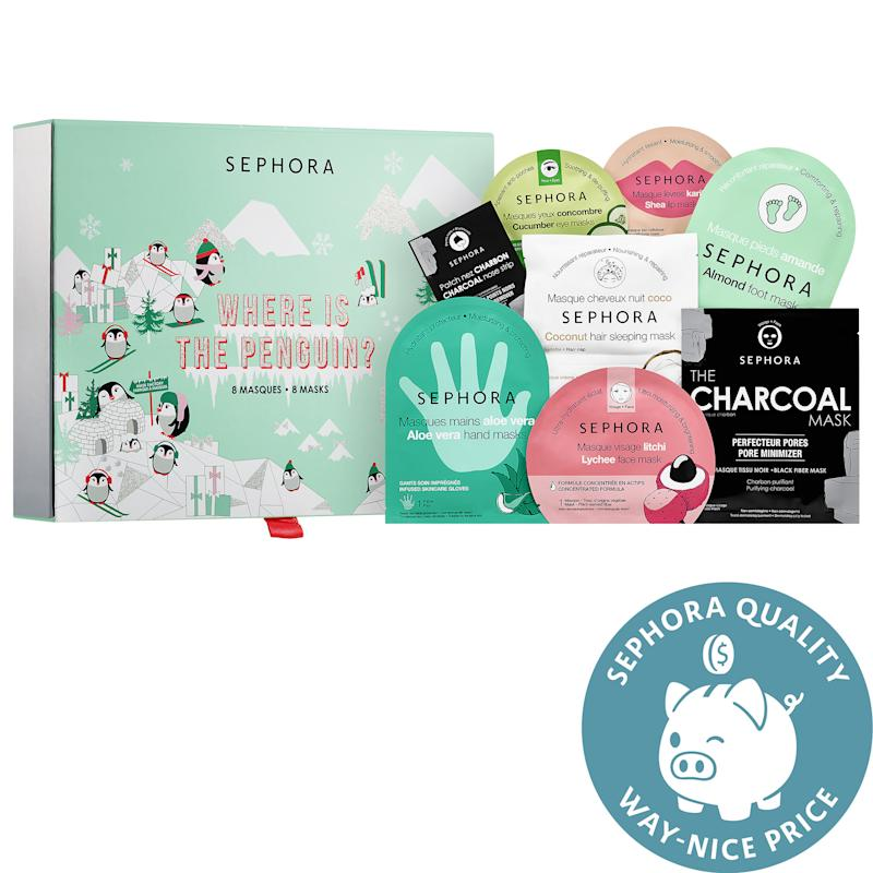 Sephora Collection Where is the Penguin Mask Set