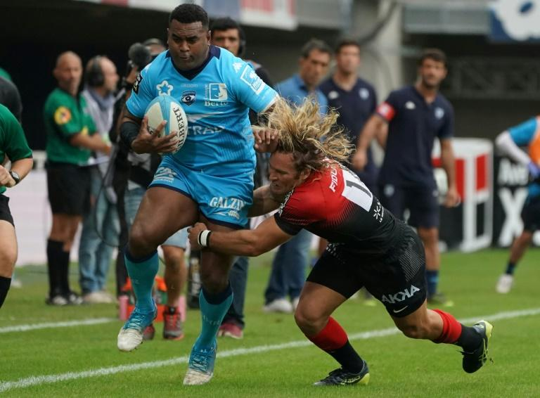 Montpellier's Timoci Nagusa became the first Fijian to play 200 games for a French club