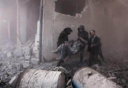 <p>23 civilians killed in Syria, most in Russian air strikes: monitor</p>