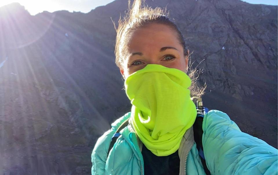 Stay cool, comfortable and safe with this specially designed multitasking mask. (Photo: Tough Headwear)