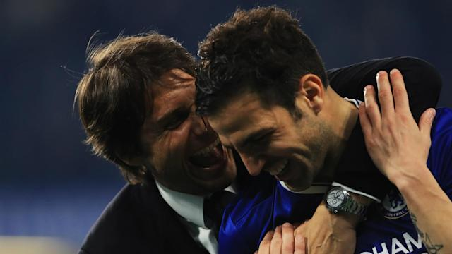 Reports of Antonio Conte's exit from Chelsea have gained weight thanks to Cesc Fabregas.