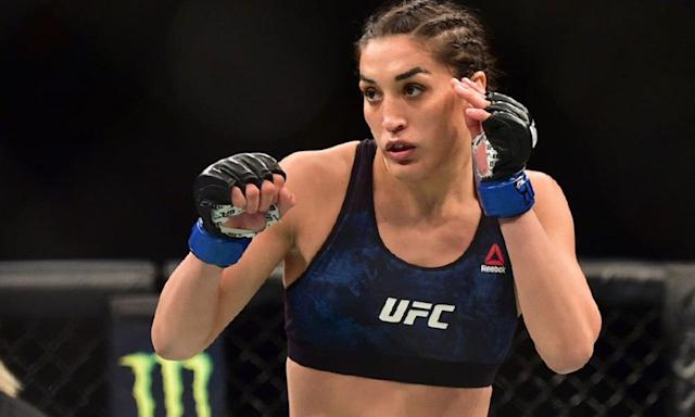 UFC strawweight Tatiana Suarez won her third straight fight in Chile on Saturday. (USA Today)