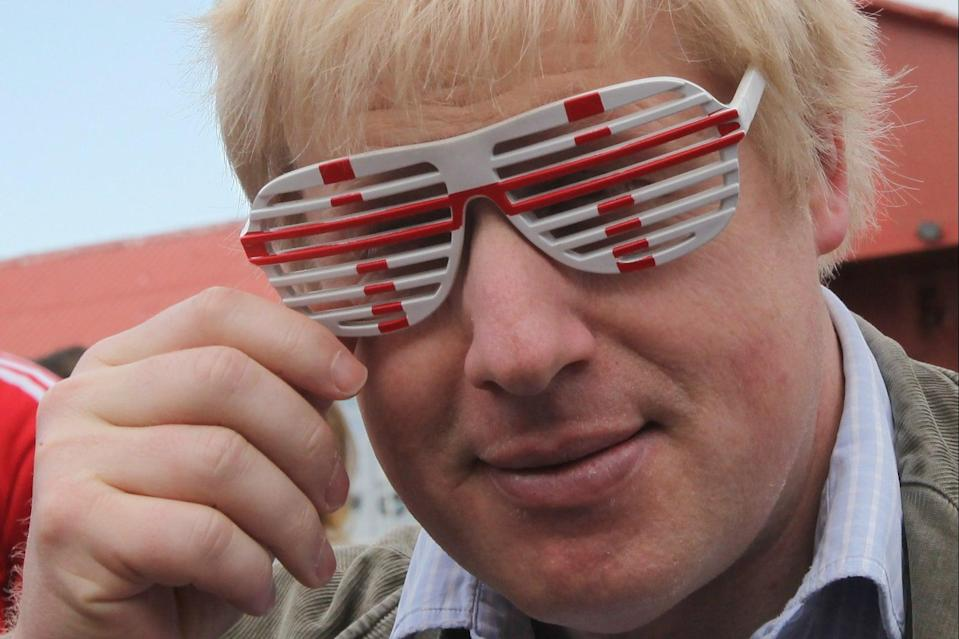 "<p>Boris Johnson: ""Let's bring football home in 2030.""</p> (Getty Images)"