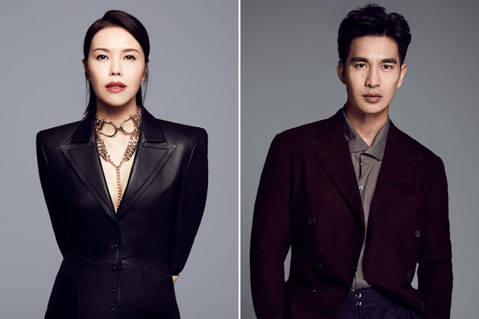In a deal by Mediacorp's The Celebrity Agency, Zoe Tay will be represented by the Bohemia Group internationally, and Pierre Png, by The Gersh Agency and Luber Roklin Entertainment. (Photos: Mediacorp)