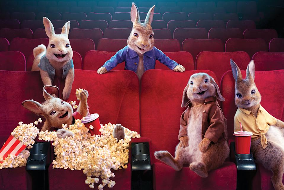 <p>Peter Rabbit 2: The Runaway has received a warm reception</p> (PR image)