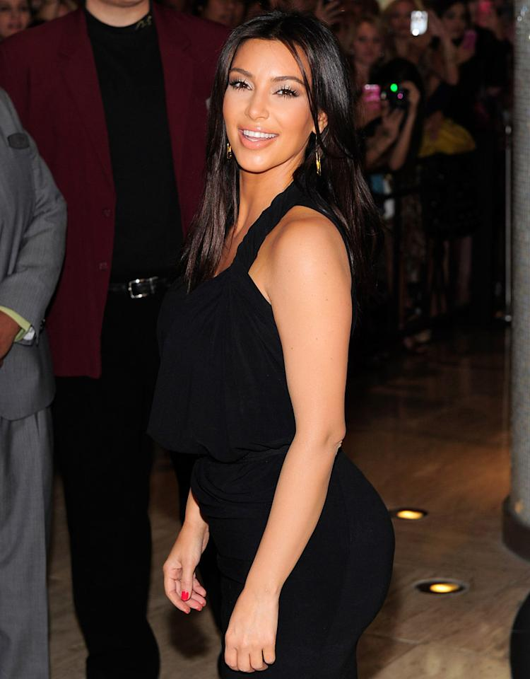 LAS VEGAS, NV - JUNE 03:  Television personality Kim Kardashian arrives at Karadashian Khaos inside The Mirage Hotel and Casino on June 3, 2012 in Las Vegas, Nevada.  (Photo by Steven Lawton/FilmMagic)