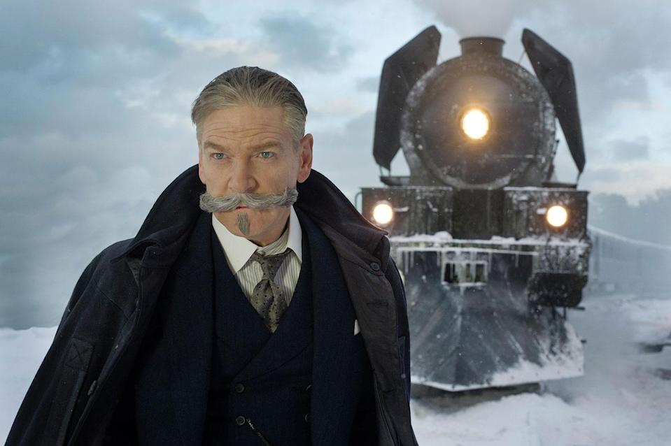 Sir Kenneth Branagh in 'Murder on the Orient Express' (20th Century Fox)