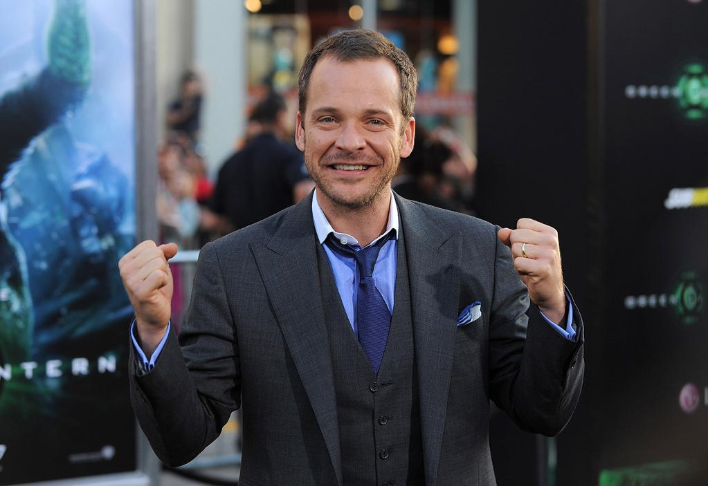 """<a href=""""http://movies.yahoo.com/movie/contributor/1800020285"""">Peter Sarsgaard</a> at the Los Angeles premiere of <a href=""""http://movies.yahoo.com/movie/1810166777/info"""">Green Lantern</a> on June 15, 2011."""