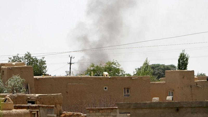 Intense fighting in Afghan city Ghazni as Taleban press their offensive