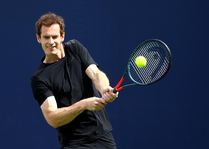 Andy Murray makes his return to tennis at Queen's this week. (Credit: Getty Images)