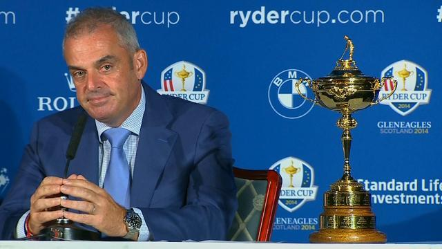 'Lucky' McGinley picks Westwood, Poulter, Gallacher