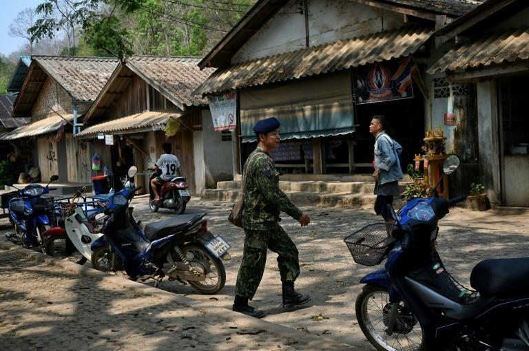 Mae Sam Laep village in remote northern Thailand received refugees escaping violence in Myanmar's eastern Karen state