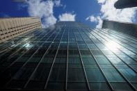 888 7th Ave, a building that reportedly houses Archegos Capital is pictured in New York City