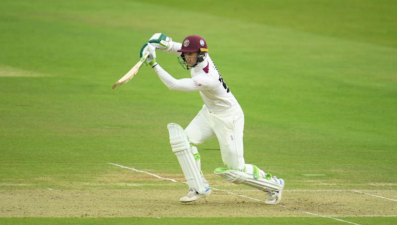 Eddie Byrom in action for Somerset at Lord'sGetty Images