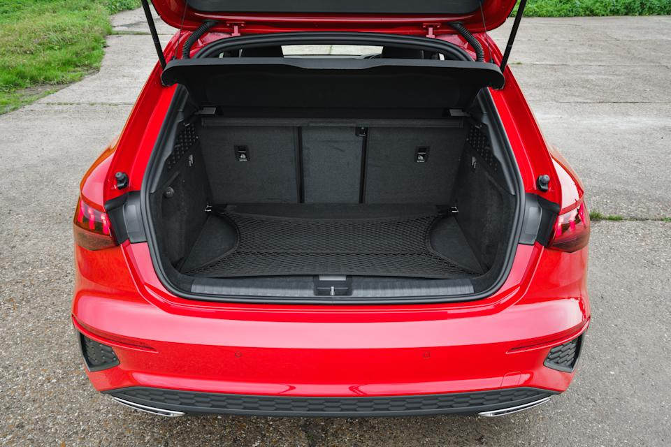 Boot space is hampered by the fitment of the batteries
