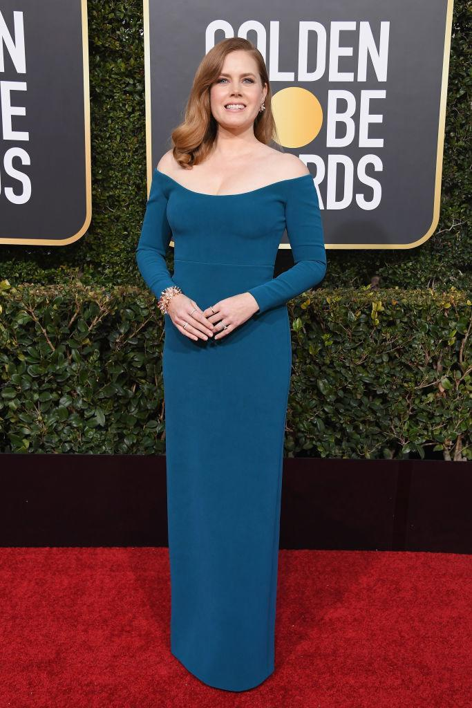 <p>Amy Adams attends the 76th Annual Golden Globe Awards at the Beverly Hilton Hotel in Beverly Hills, Calif., on Jan. 6, 2019. (Photo: Getty Images) </p>